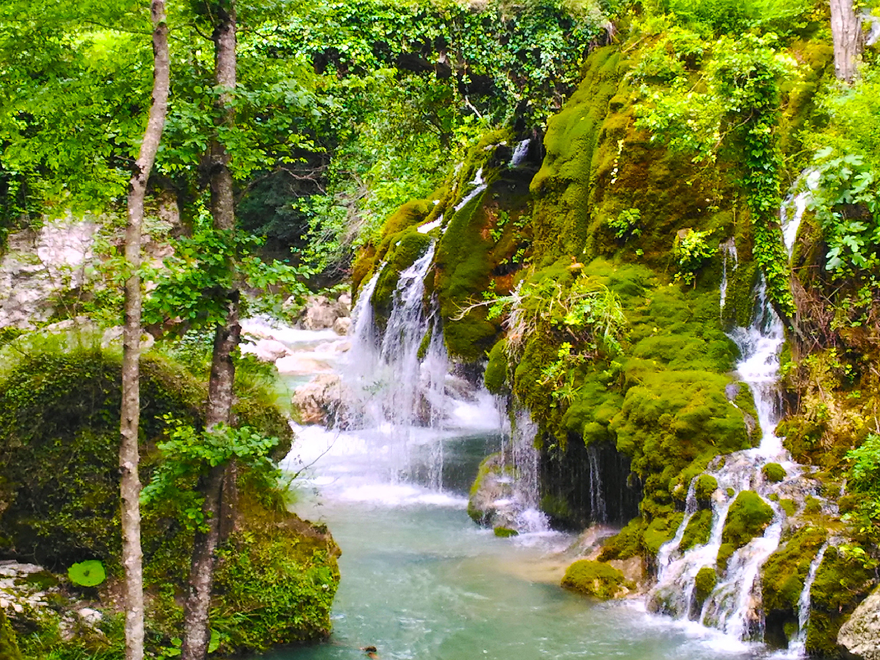 river trekking cascate
