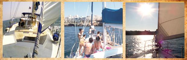 escursione barca vela puglia charter Puglia, Monopoli Polignano