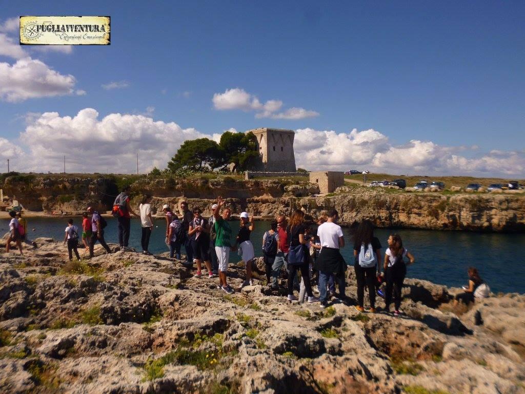 torre incina Polignano a mare Pugliavventura