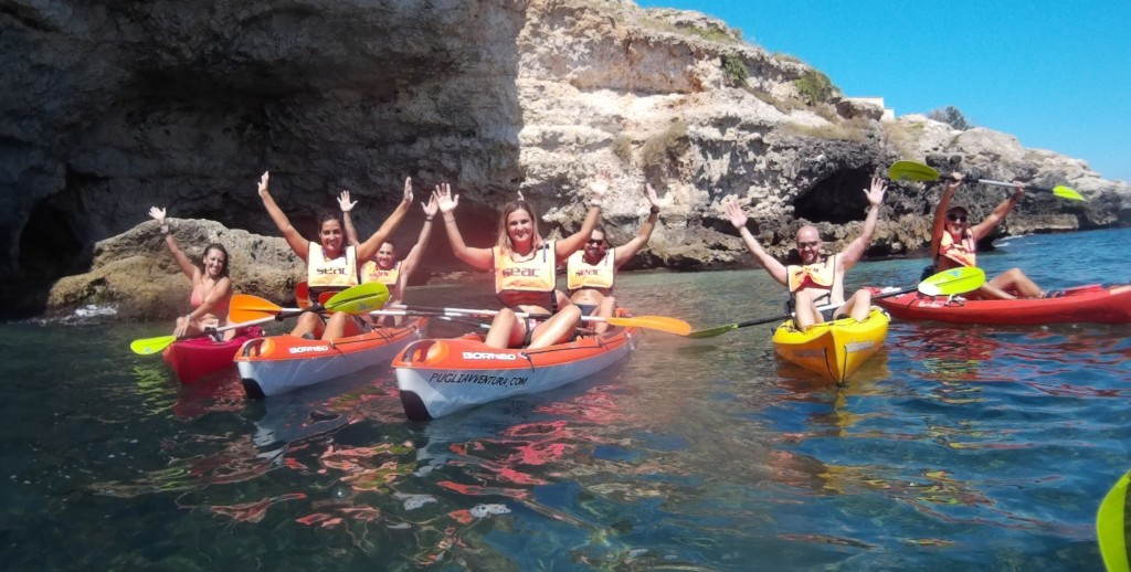 escursioni canioa kayak pugliavventura