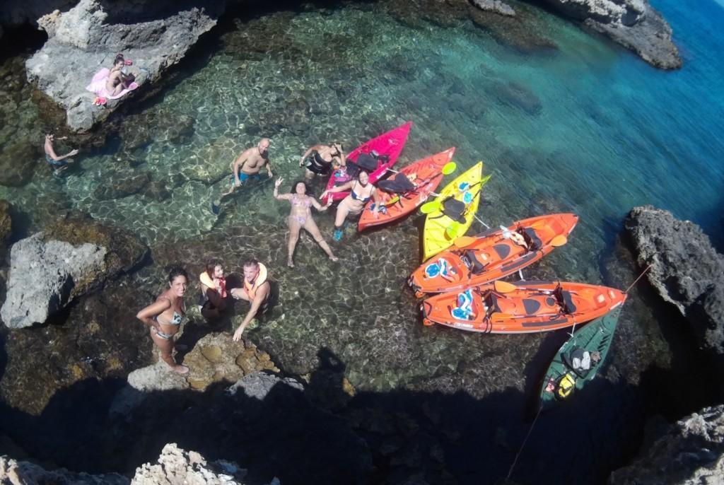 escursioni in kayak puglia