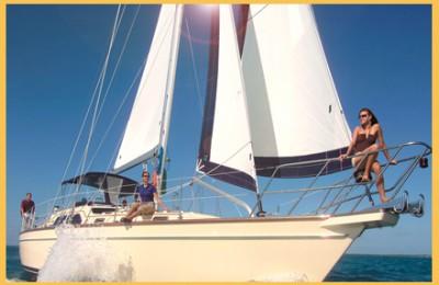 barca a vela Puglia