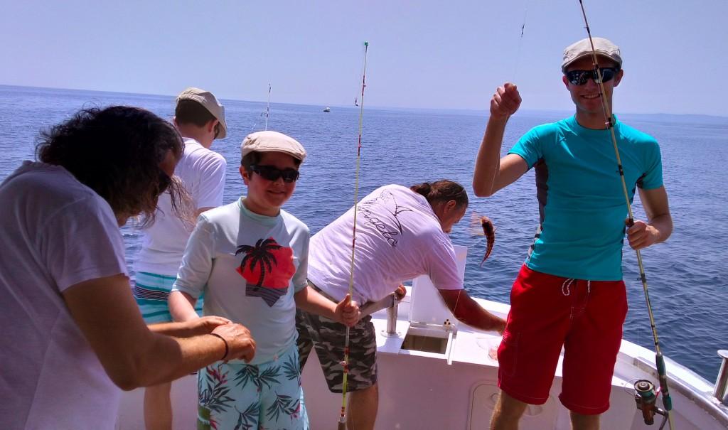 pescaturismo puglia - gite in barca - pugliavventura