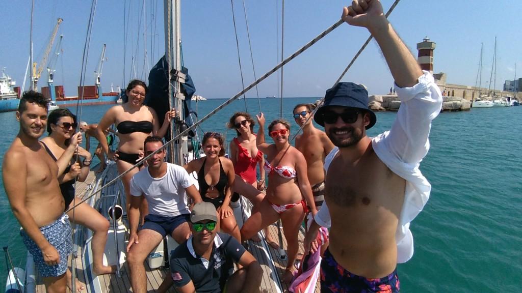 escursioni barca vela Monopoli Puglia