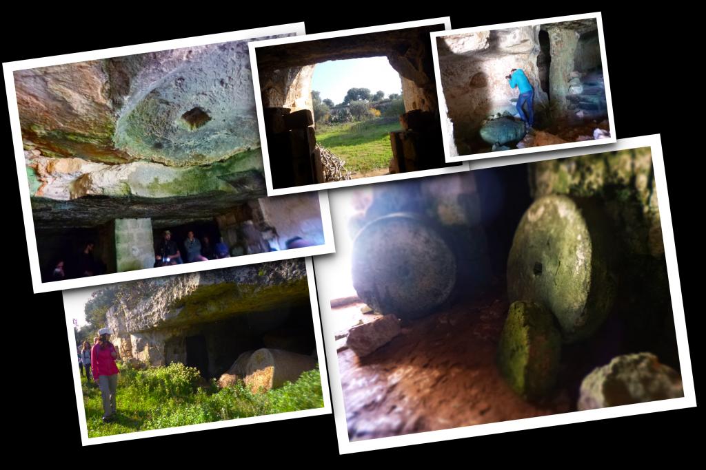 collage frantoi rupestri