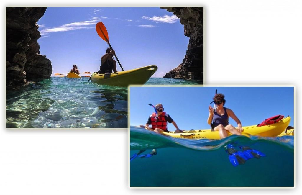 escursioni puglia kayak snorkeling canoa - Pugliavventura