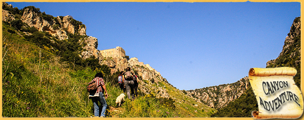 header CANYON ESCURSIONE IN GRAVINA WWW