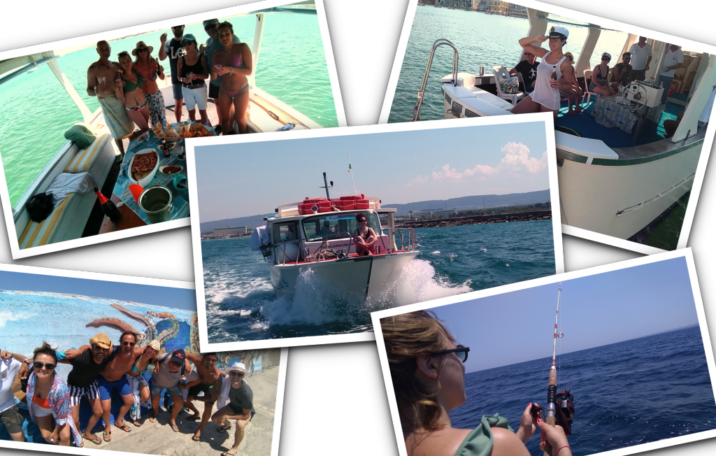 team building pesca puglia incentive