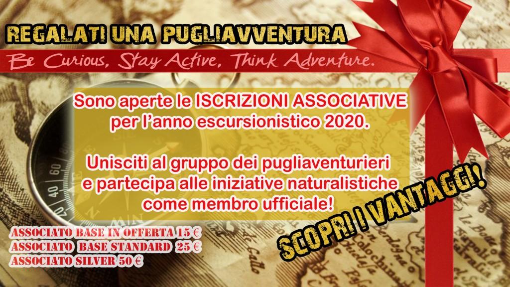 iscrizione associazione ASD PUGLIAVVENTURA