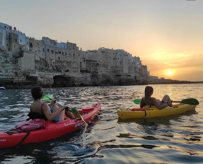 escursioni polignano kayak