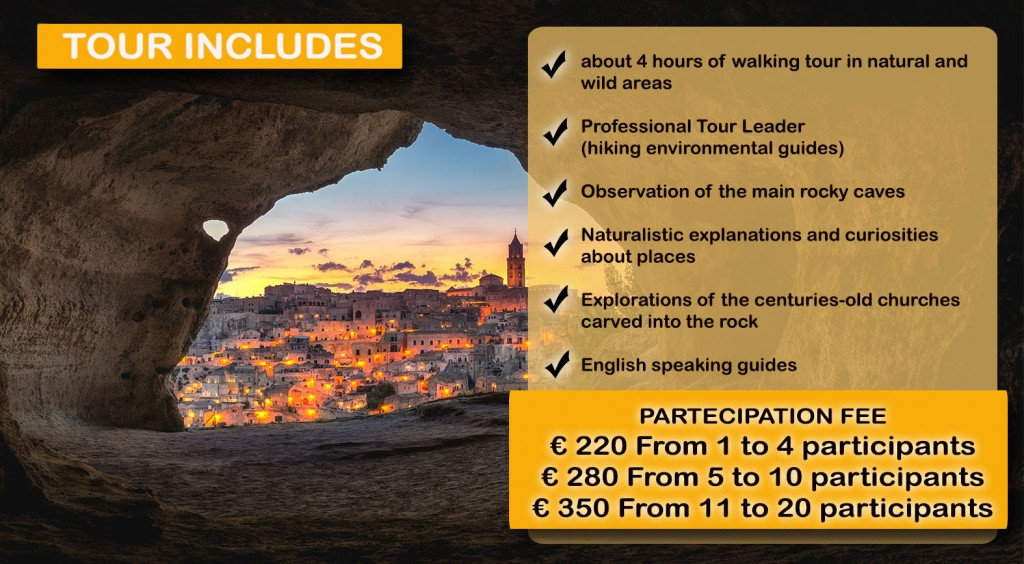 matera hiking fee website