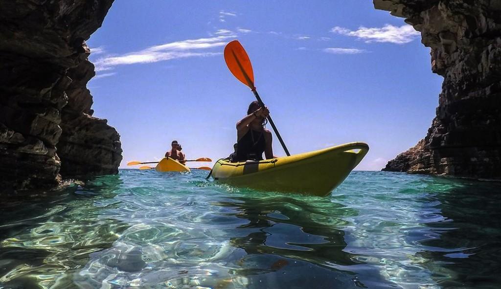 kayak excursion tour PUGLIA