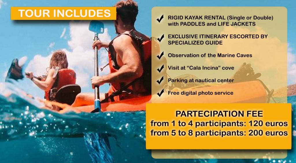 apulia kayak excursion